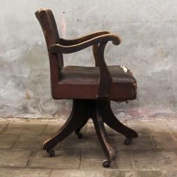 geleefde bureaustoel