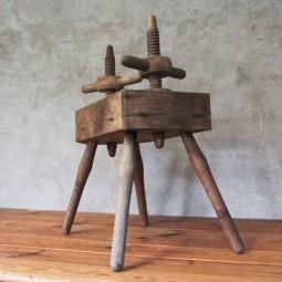 houten pers