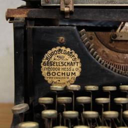 antieke typemachine