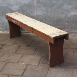 houten zitbank #1879