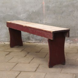 houten zitbank #1880