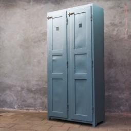 houten locker