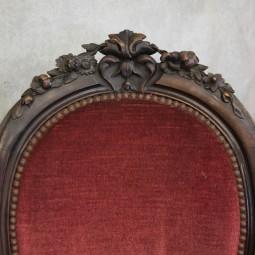 Louis Medaillon stoel