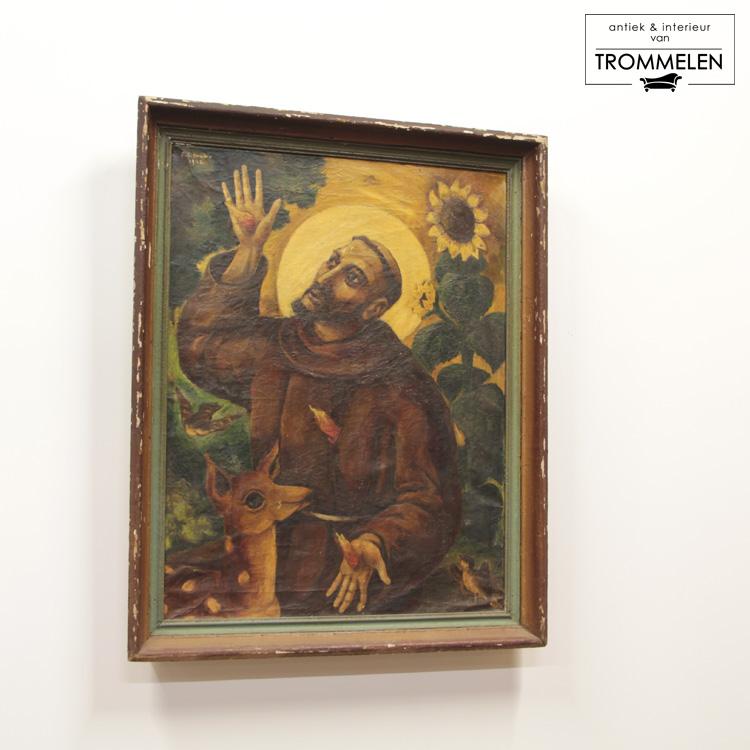 Schilderij van Heilige Franciscus