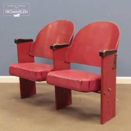 Bioscoop stoelen x2