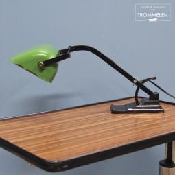 Geëmailleerde bureaulamp
