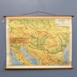 Schoolplaat Donau