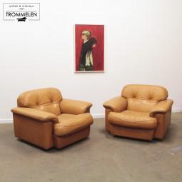 Leren Vavassori fauteuils