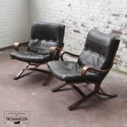 Set vintage Westnofa stoelen