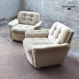Set vintage fauteuils