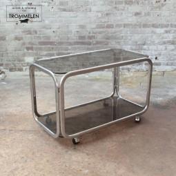 Vintage serveerwagen