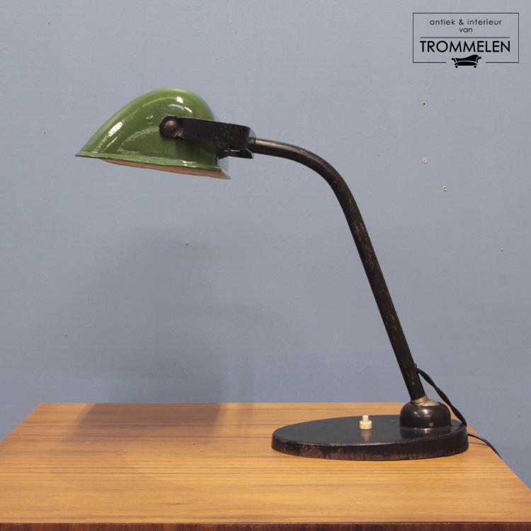 Antieke bureaulamp