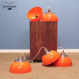 Oranje Guzzini hanglampen