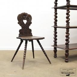 Antieke bergstoel