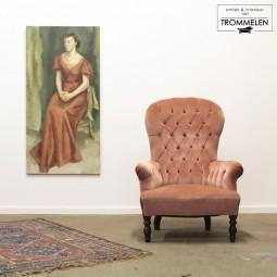 Victoriaanse fauteuil