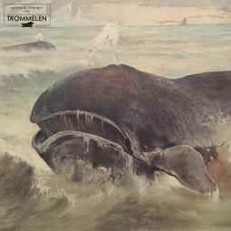 Antieke schoolplaat: walvis