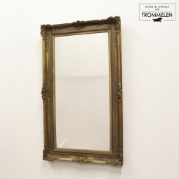 Antieke spiegel in lijst