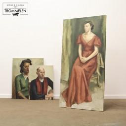 Schilderij M. de Bruyn