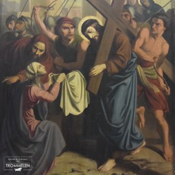 Schilderij kruisweg