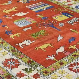 Vintage tapijt 305x210