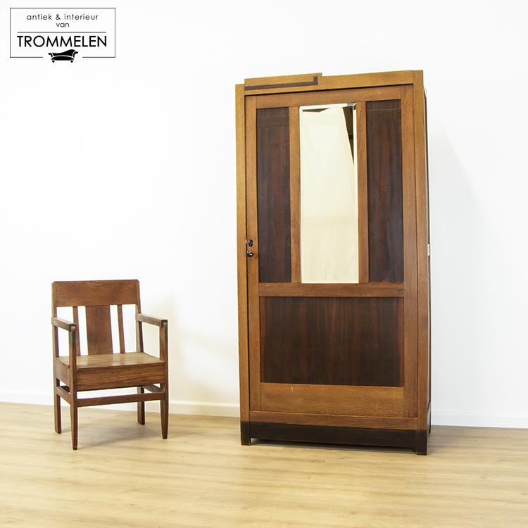 Art-Deco kledingkast