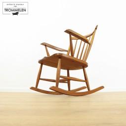 Vintage schommelstoel