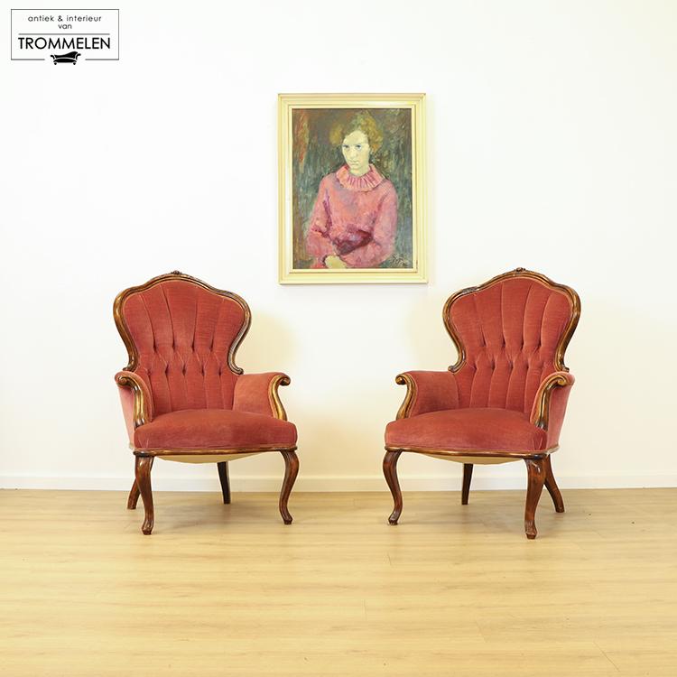 Antieke fauteuils