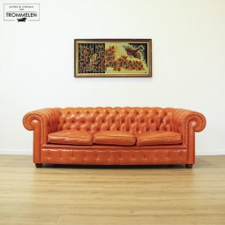 Oranje Chesterfield