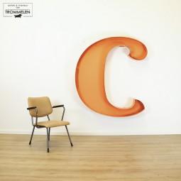 Reclame letter C
