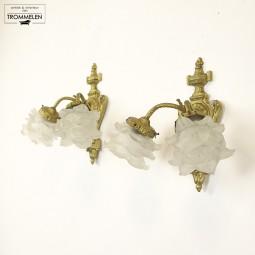 Antieke Franse wandlampen