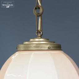 Roze opaline hanglamp