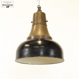 Emaille fabriekslamp