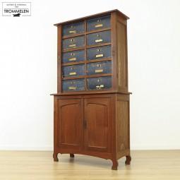 Art-Nouveau archiefkast