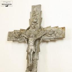 Art-Nouveau crucifix