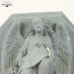 Console met engel