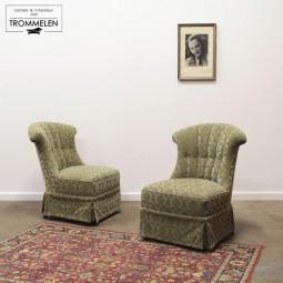 Victoriaanse fauteuils