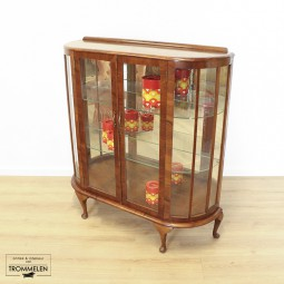 Antieke vitrinekast