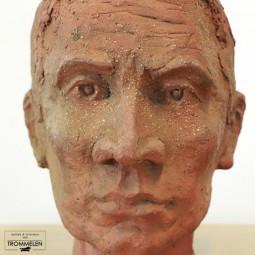 Terracotta hoofd