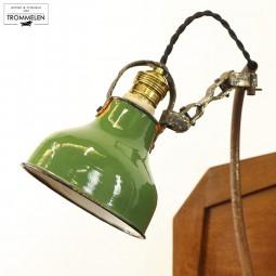 Emaille werklamp