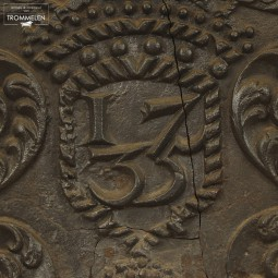 18e eeuwse haardplaat